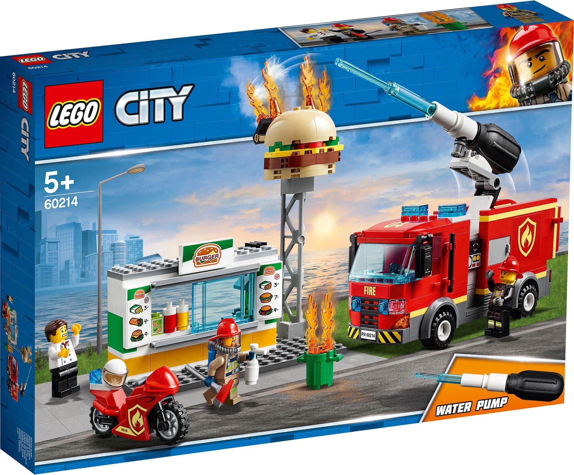 LEGO City Fire 60214 Purilaispaikan Sammutustehtävä