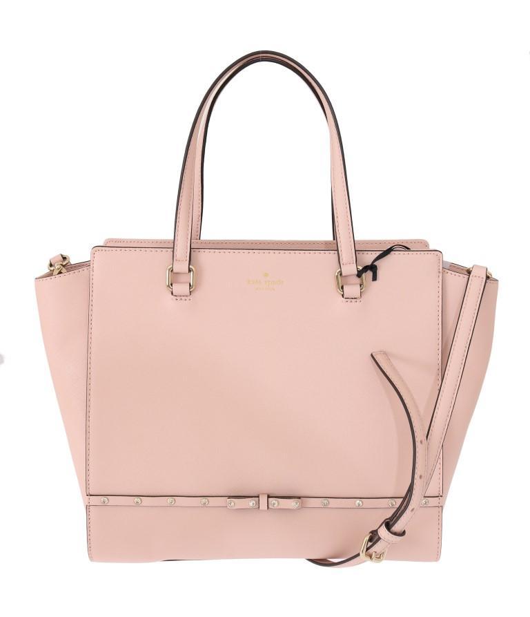 Kate Spade Women's HANDLEE Leather Handbag Pink VAS1805