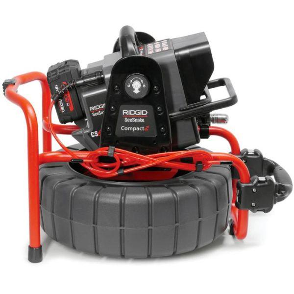 Ridgid SeeSnake Compact2 CS6Pak Pakke med batteri og lader