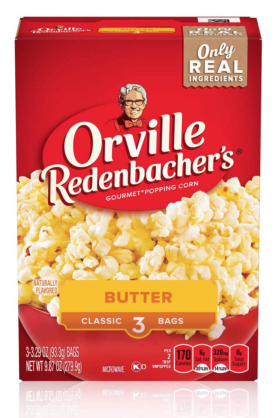 Orville Redenbachers Butter Popcorn 279,9g