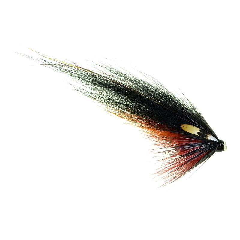 Black & Orange - 6mm tube 4cm wing Kjøp 12 fluer få gratis flueboks