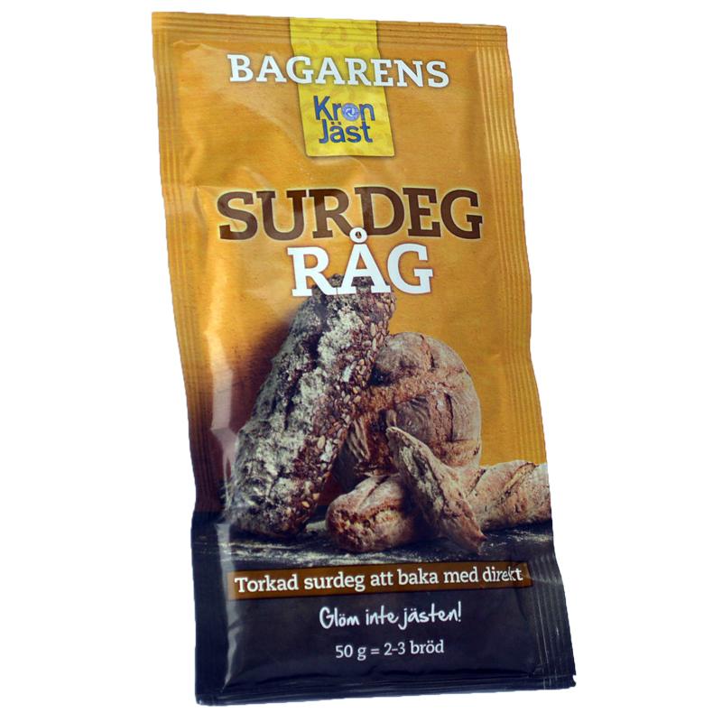 Torkad Surdeg Råg 50g - 38% rabatt
