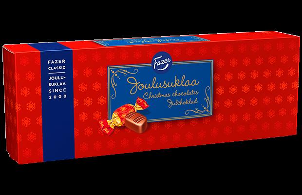 Fazer Julchoklad Ask 250g