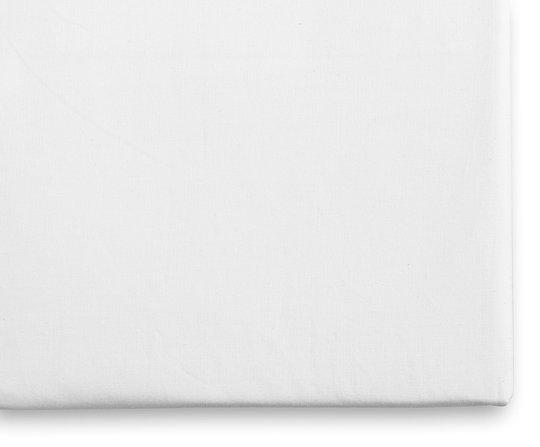 Borganäs Jersey Stretchlaken 40x90, Hvit