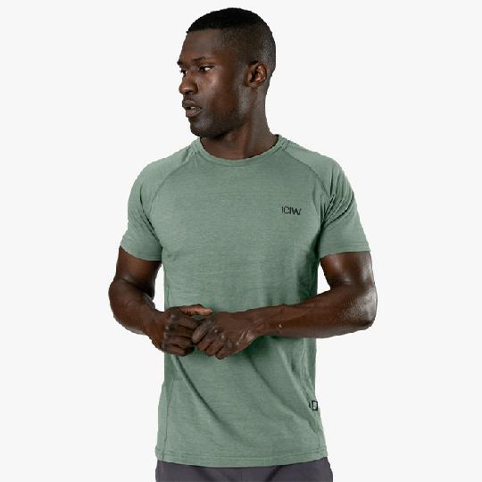 Training Tri-Blend T-shirt, Racing Green