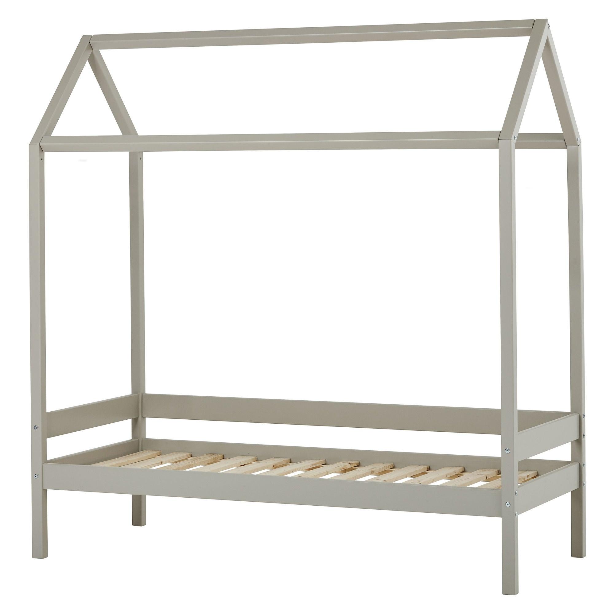 Hoppekids Hussäng IDA-MARIE 70x160 cm, Dove Grey