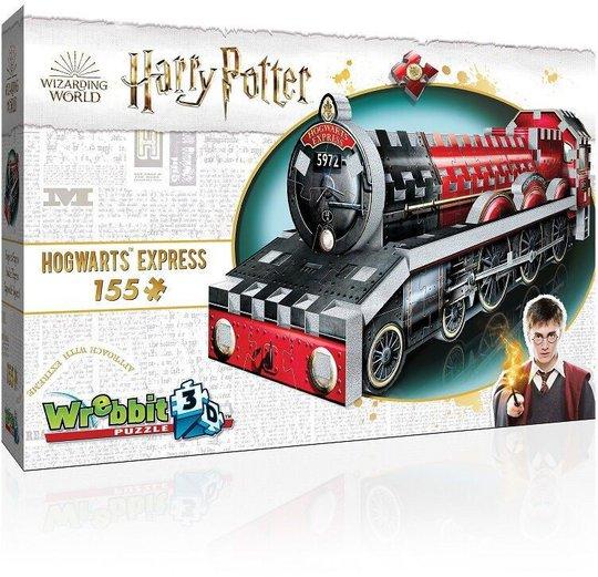 Harry Potter 3D-Puslespill Hogwarts Ekspressen 155 Brikker