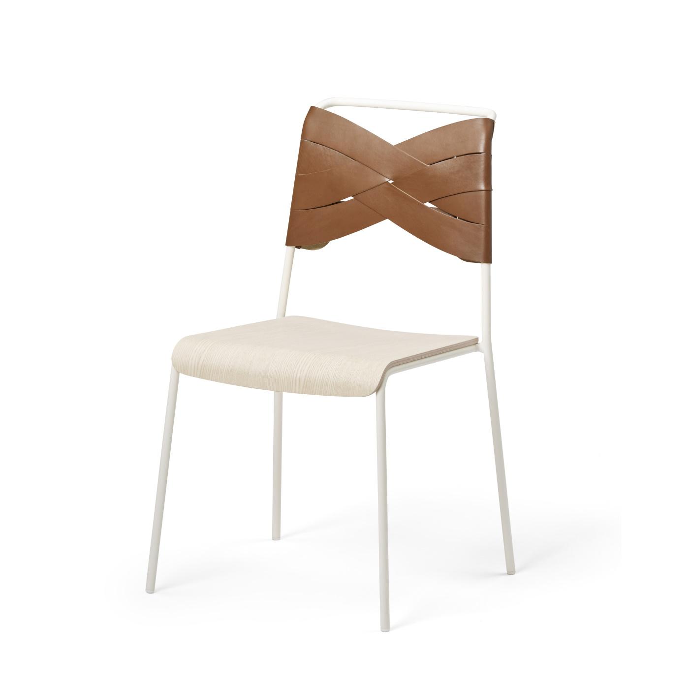Torso Chair ask/ cognac, Design House