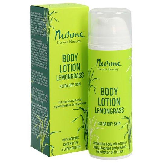 Nurme Organic Lemongrass Body Lotion, 150 ml