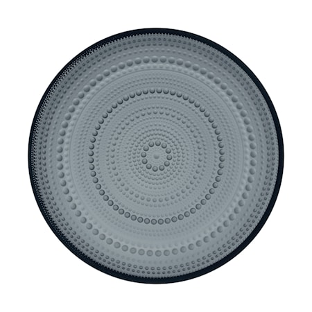 Kastehelmi Tallrik 248 mm Mörkgrå