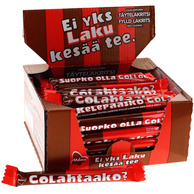 ColaCola Lakritsstänger - 47% rabatt