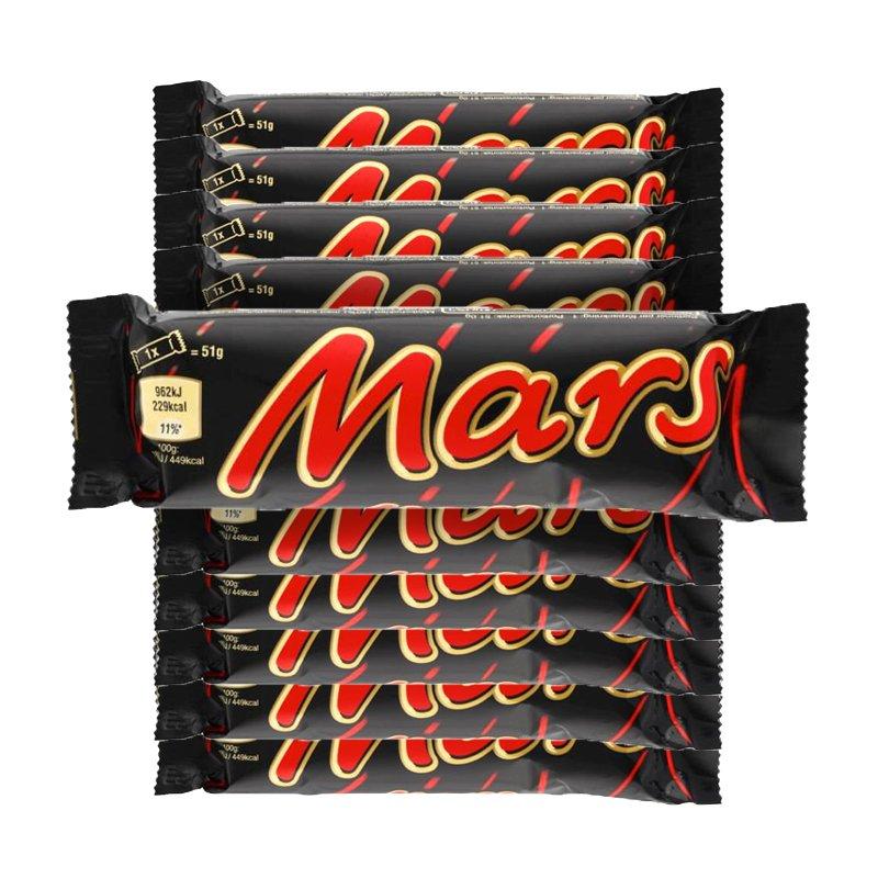Mars 10-pack - 34% rabatt