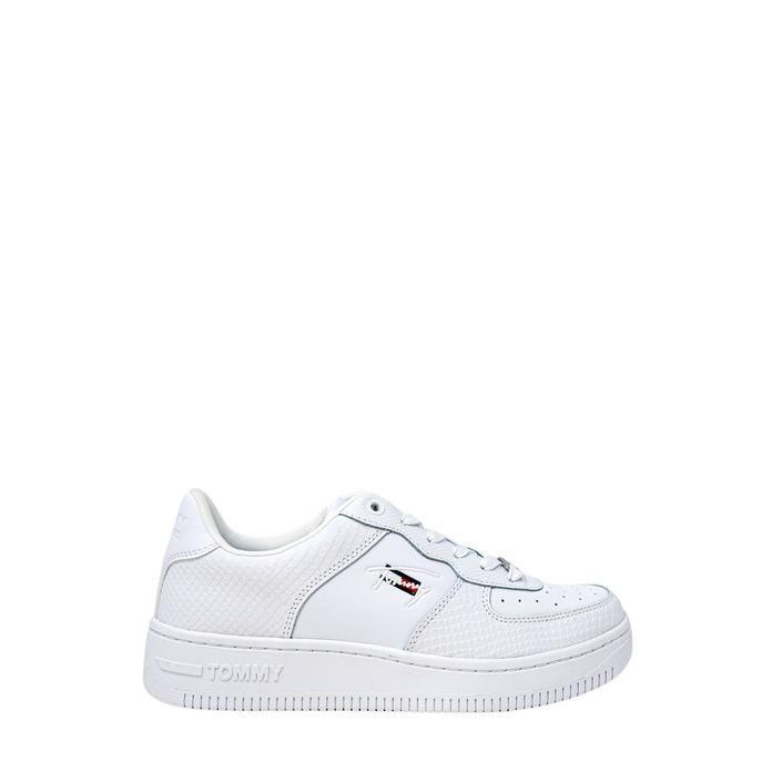 Tommy Hilfiger Jeans Women's Trainer White 273122 - white 40