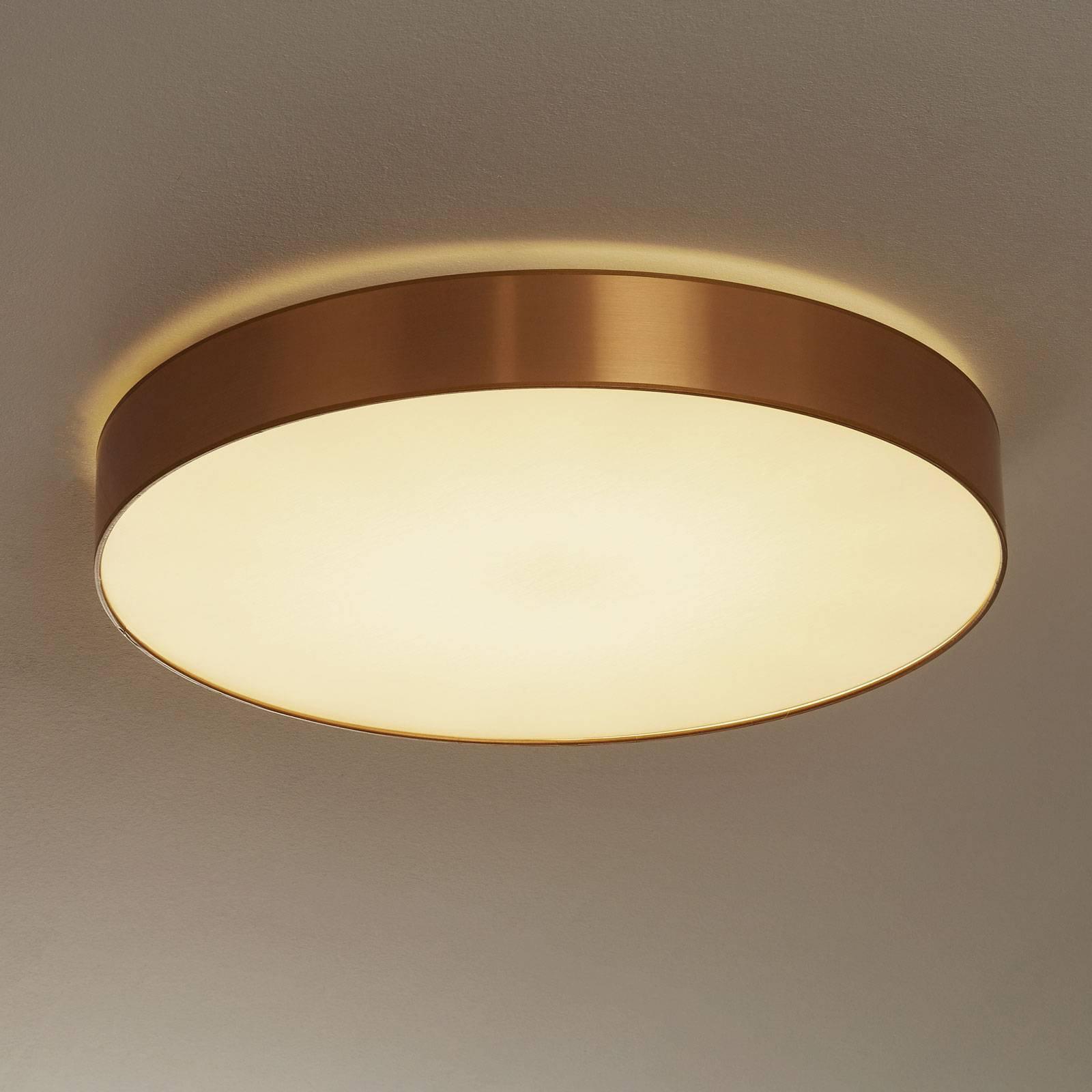Aurelias taklampe dimbar 60 cm gullfarget