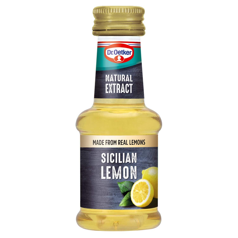 Dr oetker Natural Sicillian Lemon Extract 35ml