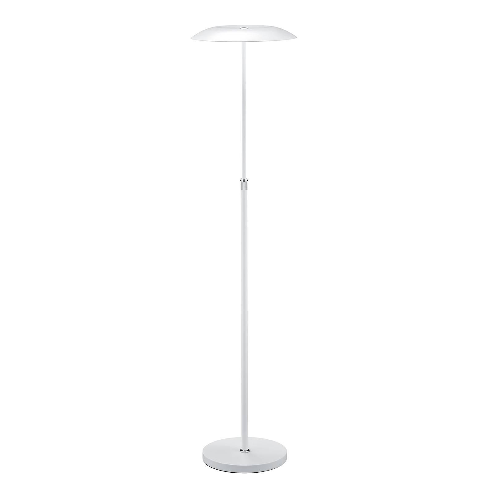 B-Leuchten Curling LED-gulvlampe hvit