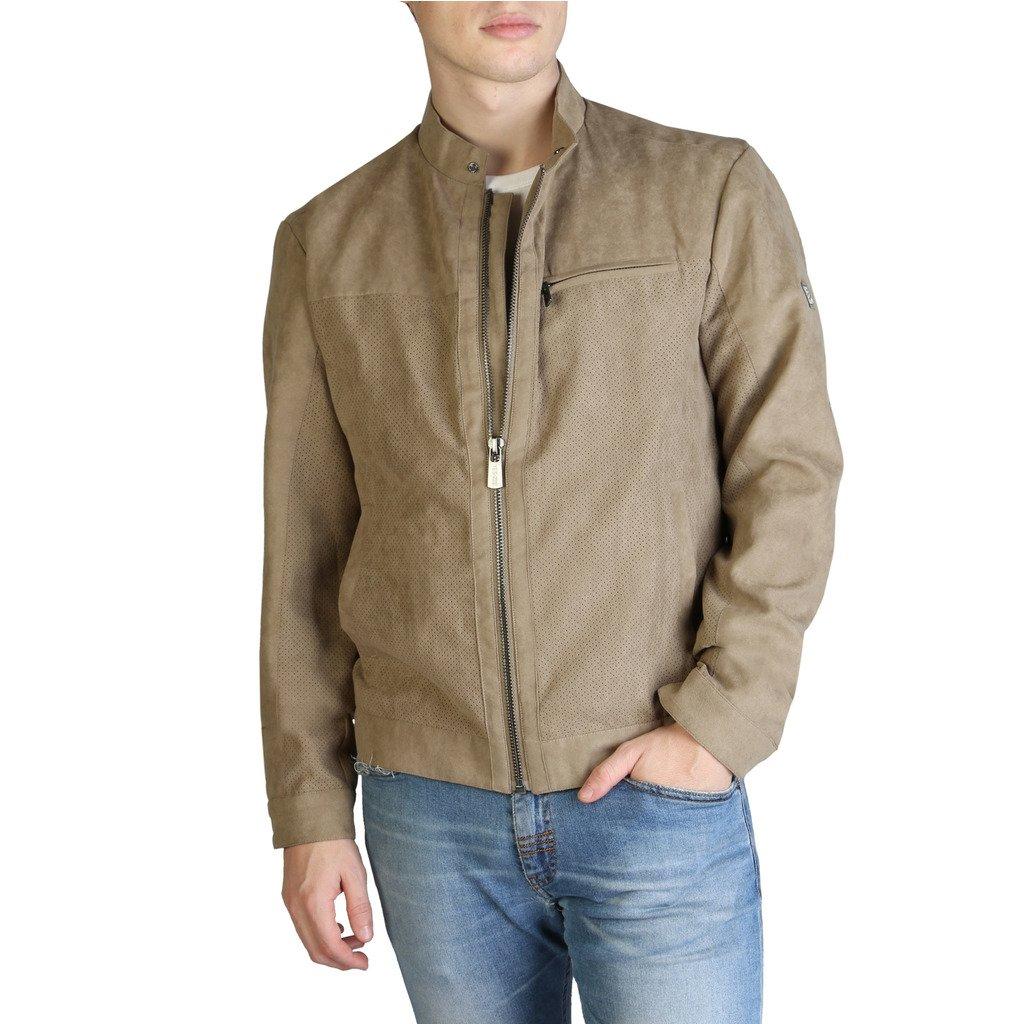 Yes Zee Men's Jacket Various Colours J521_QC00 - brown S