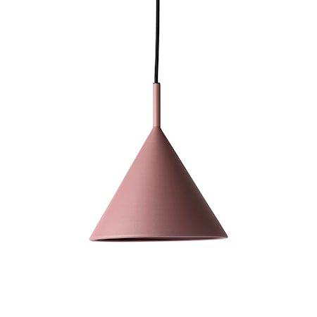 metal triangle pendant lamp M matt purple