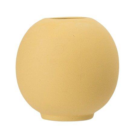 Vase Stone Yellow Ø8,5x8 cm
