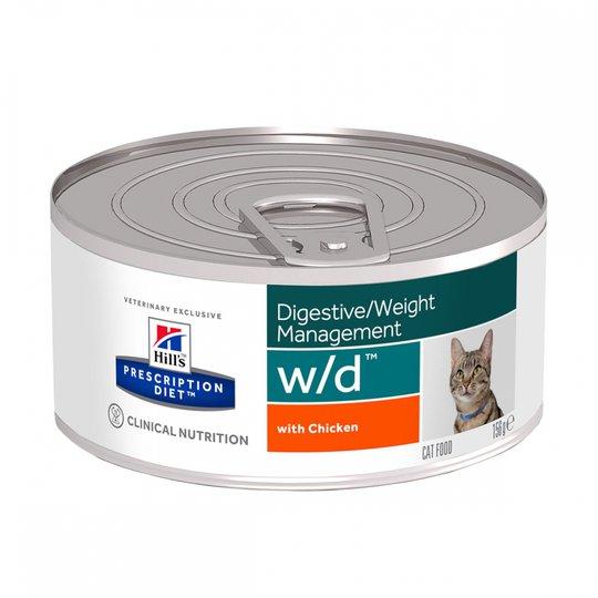 Hill's Prescription Diet Feline w/d Digestive Weight Management Chicken 156 g
