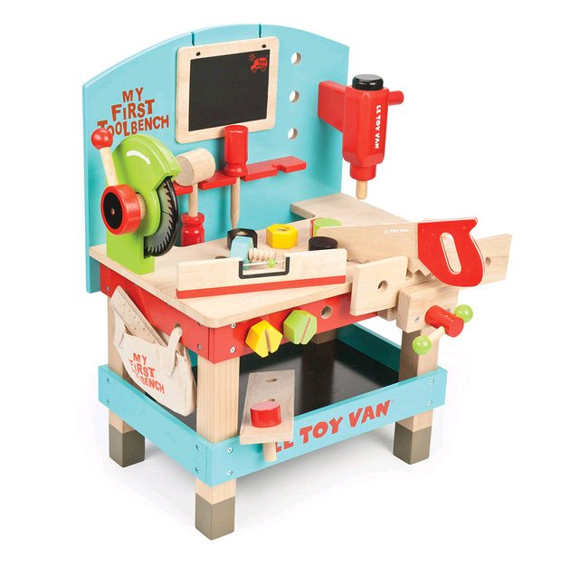 Le Toy Van - My First Wooden Tool Bench (Ltv448)