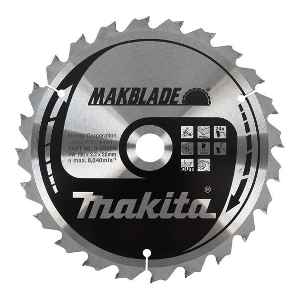 Makita B-08894 Sagklinge 24T