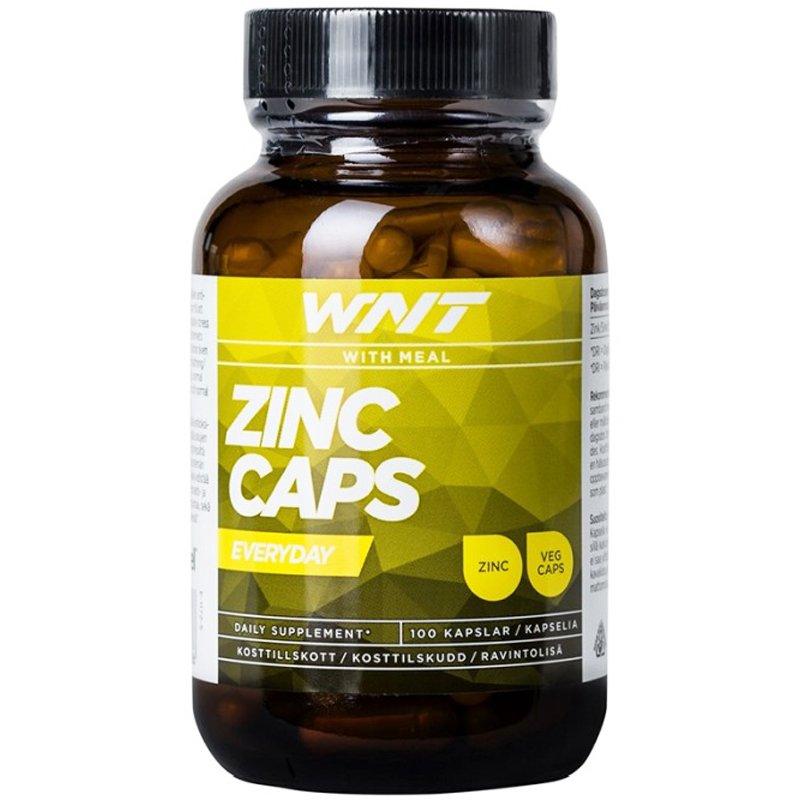 """Ravintolisä """"Zinc Caps"""" 100-pack - 24% alennus"""
