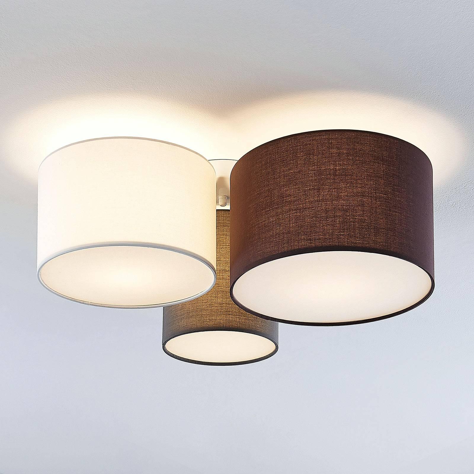 Lindby Laurenz -kattovalaisin, 3-lamppuinen