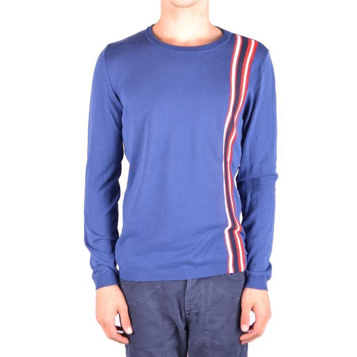 Daniele Alessandrini Men's Sweater Blue 163365 - blue 50