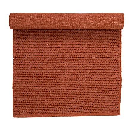 Teppe Orange Bomull 120x60 cm