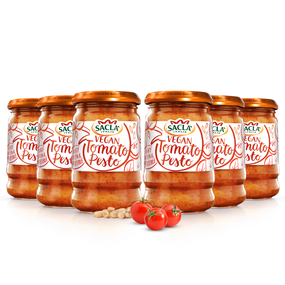 Vegan Tomato Pesto Parcel
