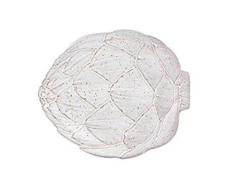 Artichoke Hvit Middagstallerken 31,5 cm