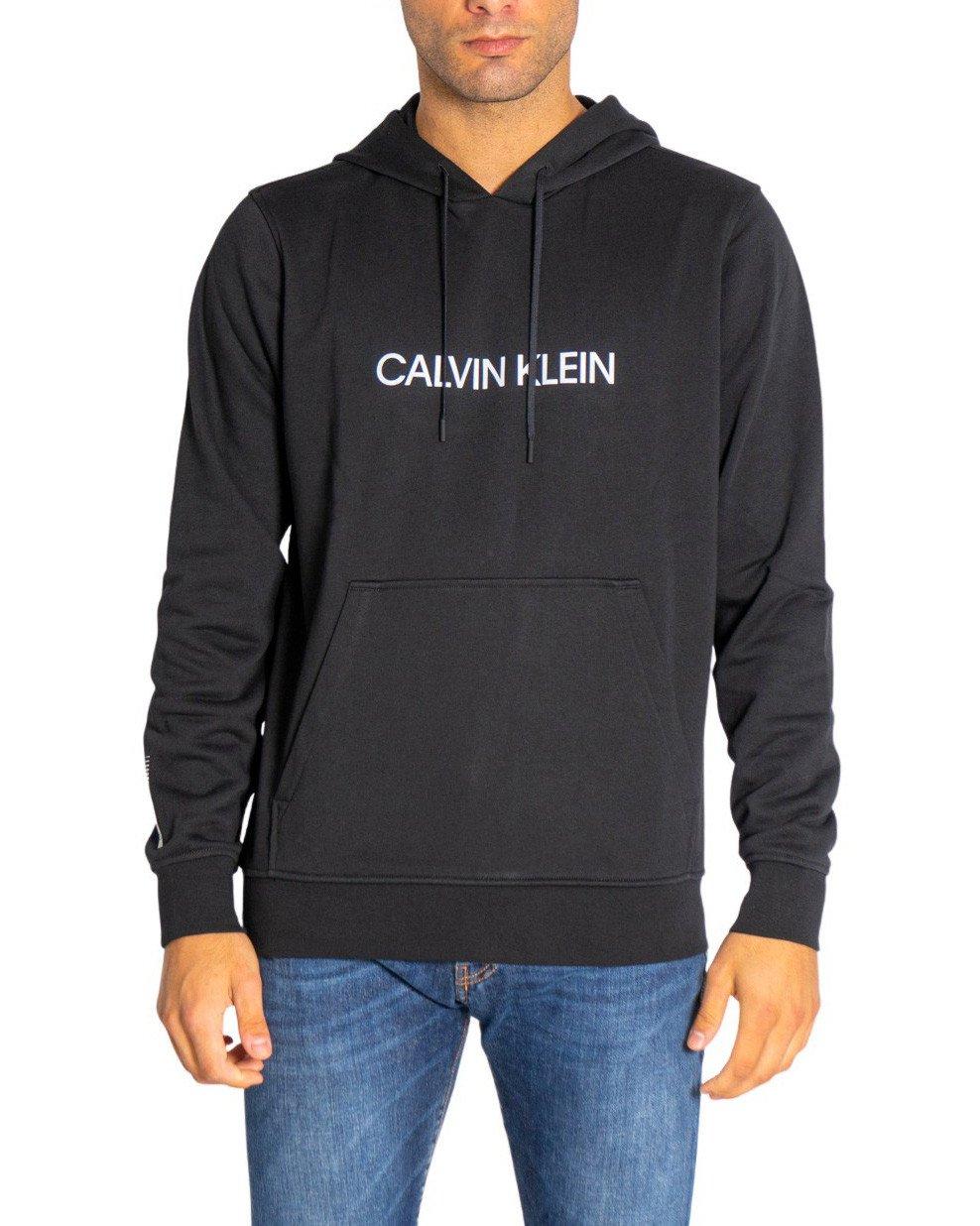 Calvin Klein Performance - Calvin Klein Performance Men Sweatshirts - black S