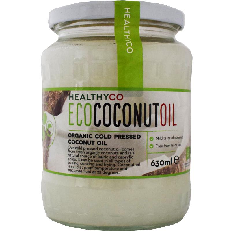 Kallpressad kokosolja - 40% rabatt
