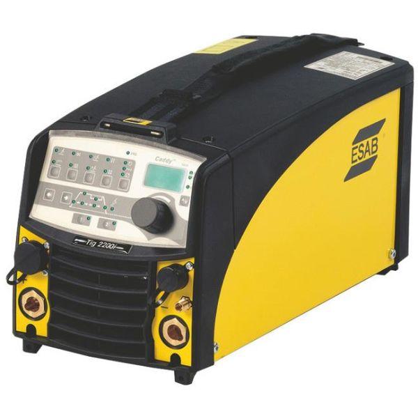 ESAB CADDY TIG 2200IW TA34 Kit Tig-hitsauskone mukana poltin ja puikkohitsaussarja, 1-vaihe