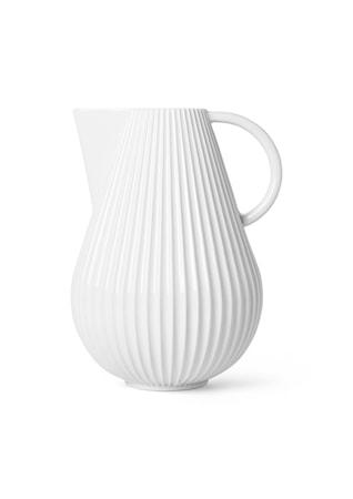 Lyngby Tura Kanna Vas Vit Porslin H27,5 cm