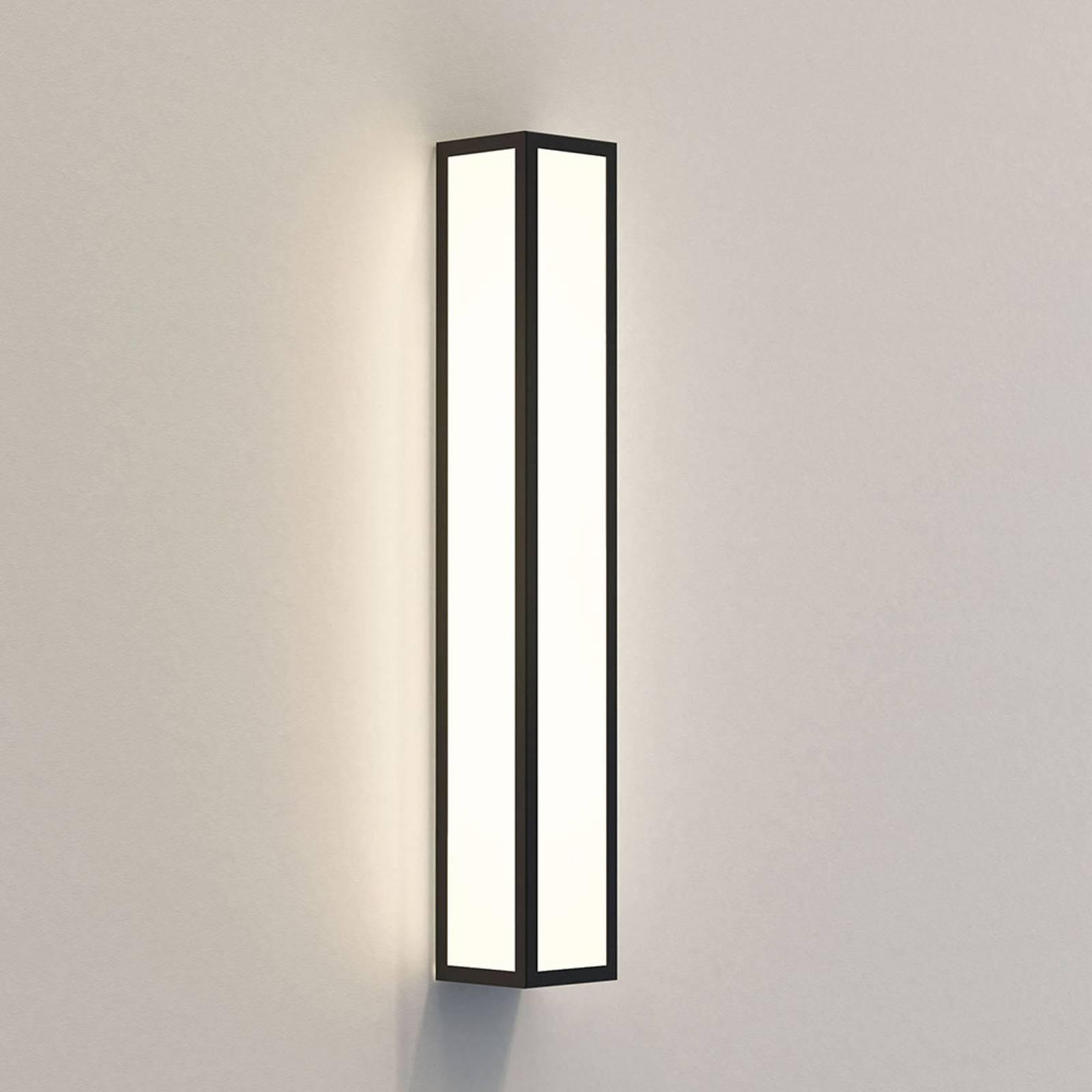 Astro Salerno 520 -LED-ulkoseinälamppu 52 cm musta