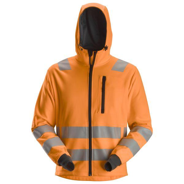 Snickers 8039 AllroundWork Huppari heijastimet, oranssi XS