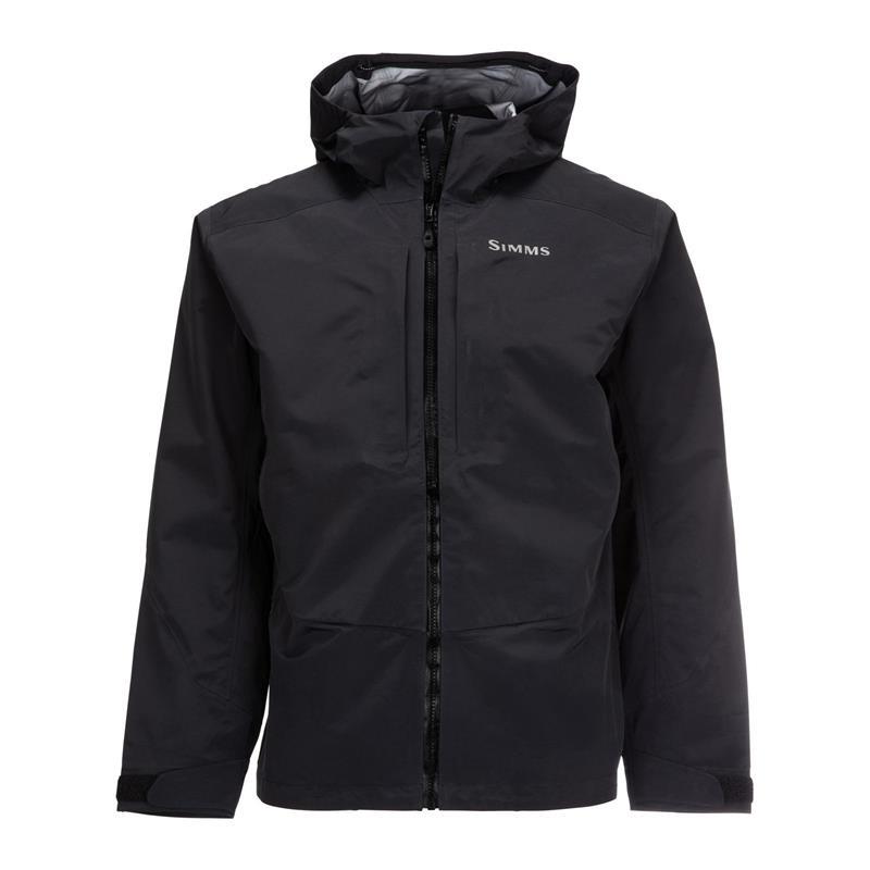 Simms Freestone Jacket XXL Black Vadejakke passende alle behov