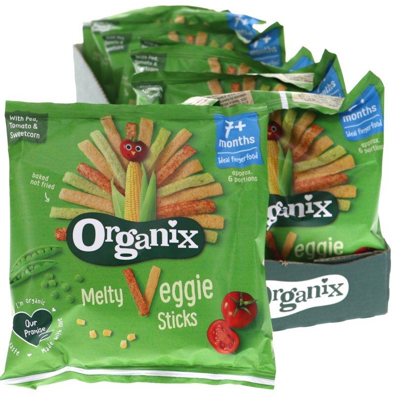 Luomu Veggie Sticks 8kpl - 41% alennus