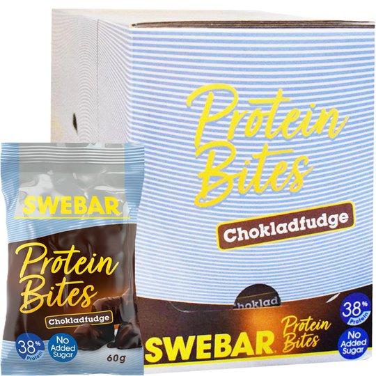 Proteinbites Chokladfudge 12-pack - 52% rabatt