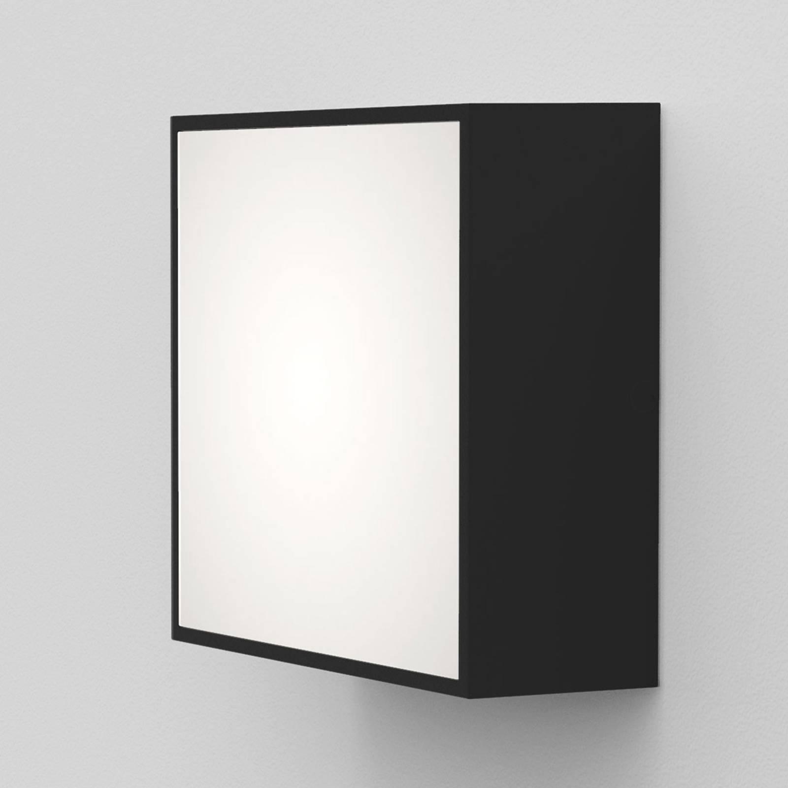 Astro Kea Square 140 -LED-seinävalaisin, musta