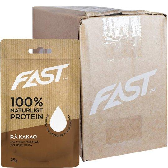 Hel Låda Proteinpulver Rå Kakao 20 x 25g - 86% rabatt