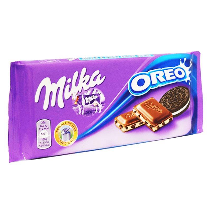 "Mjölkchoklad ""Oreo"" 100g - 23% rabatt"