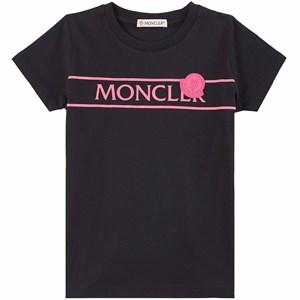 Moncler Branded T-shirt Svart 4 år
