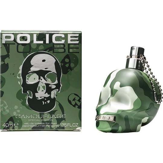 Police To Be Camouflage for Men EdT, 40 ml Police Hajuvedet