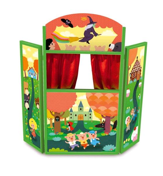 Vilac - Wooden Fairytale theatre (4624)