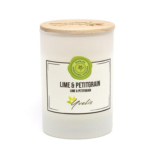 Yvelis Miljövänligt Doftljus Lime & Petitgrain