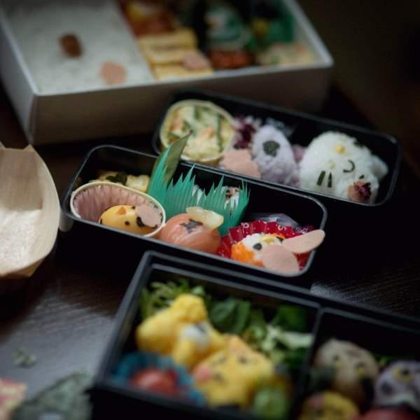 Jaw-dropping Japanese Bento - Adult + Child