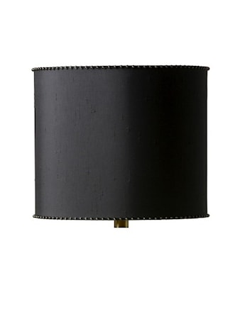 Nina Lampskärm 29cm Black/Gold